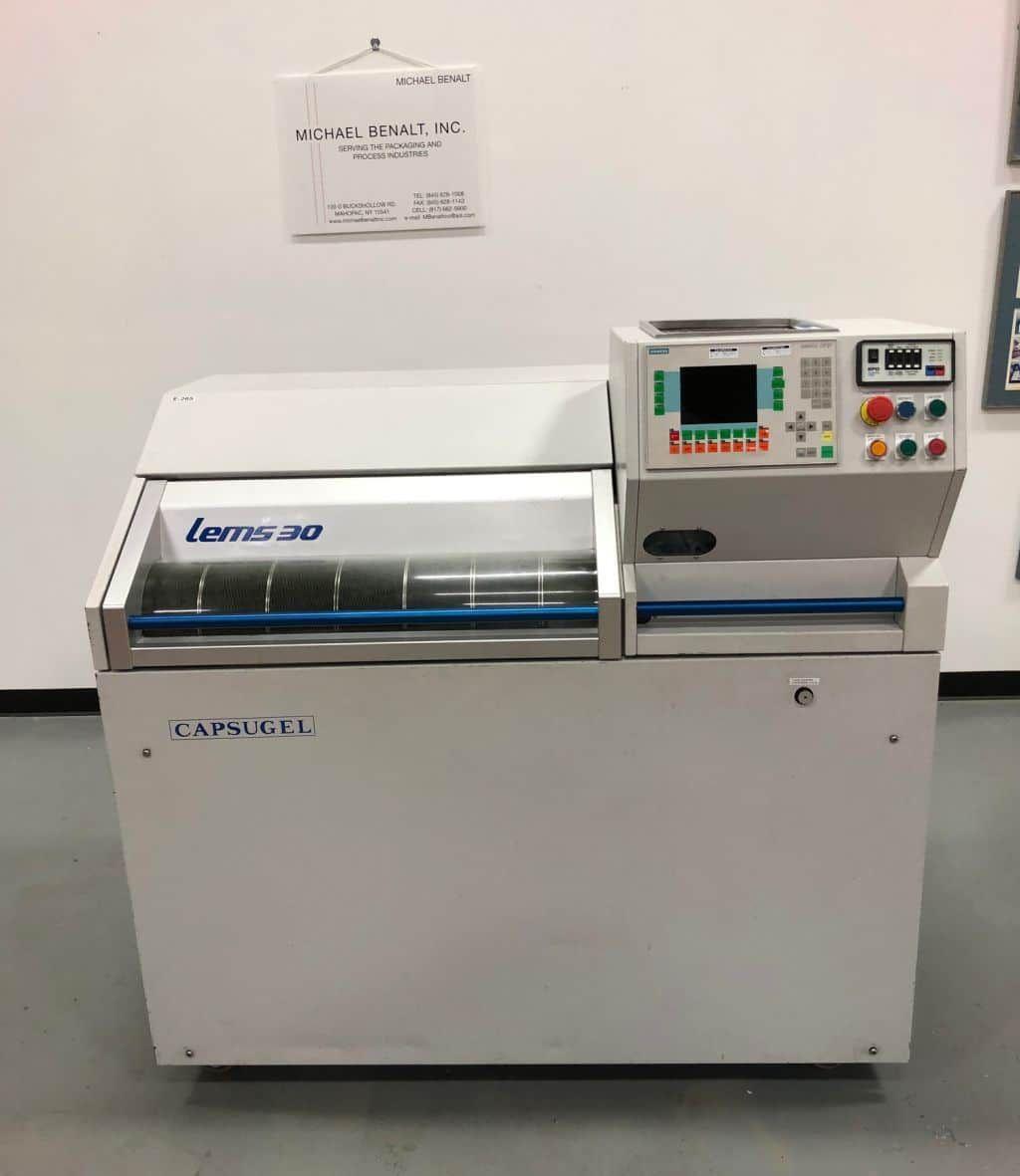 Capsugel Lems30 Liquid Encapsulator Sealer
