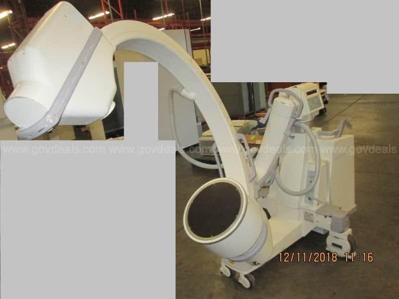 OEC 9800 Mobile C-Arm Fluoroscopy X-Ray Equipment