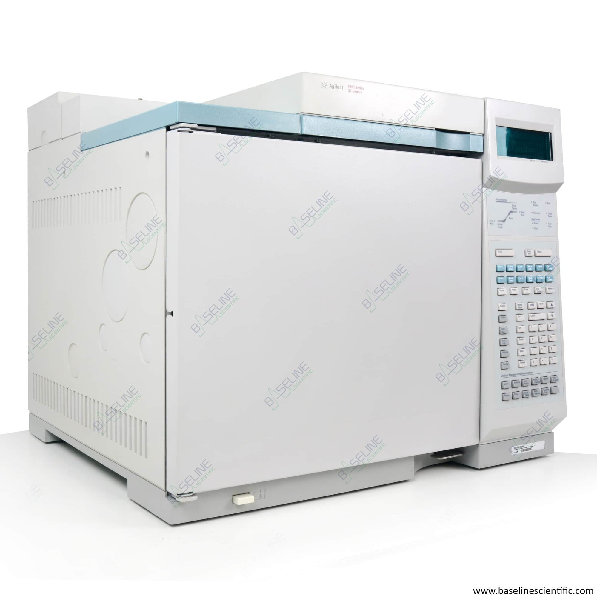 Refurbished Agilent 6890 GC with Dual SSL inlet and Dual FID with One Year Warranty