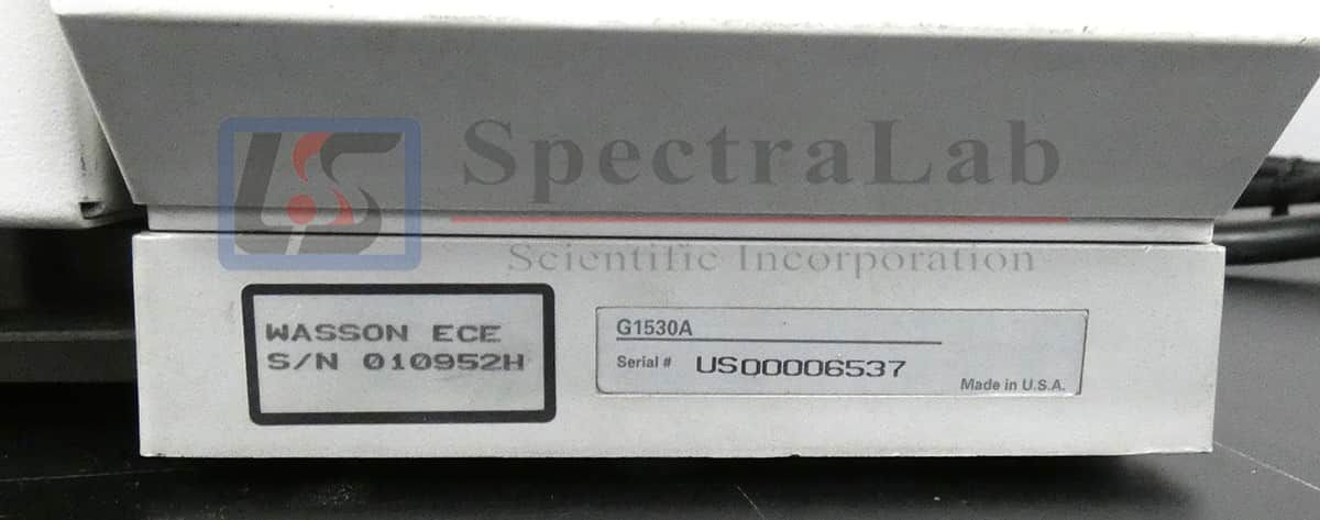 Agilent 6890 GC with Wasson ECE Special Valve System