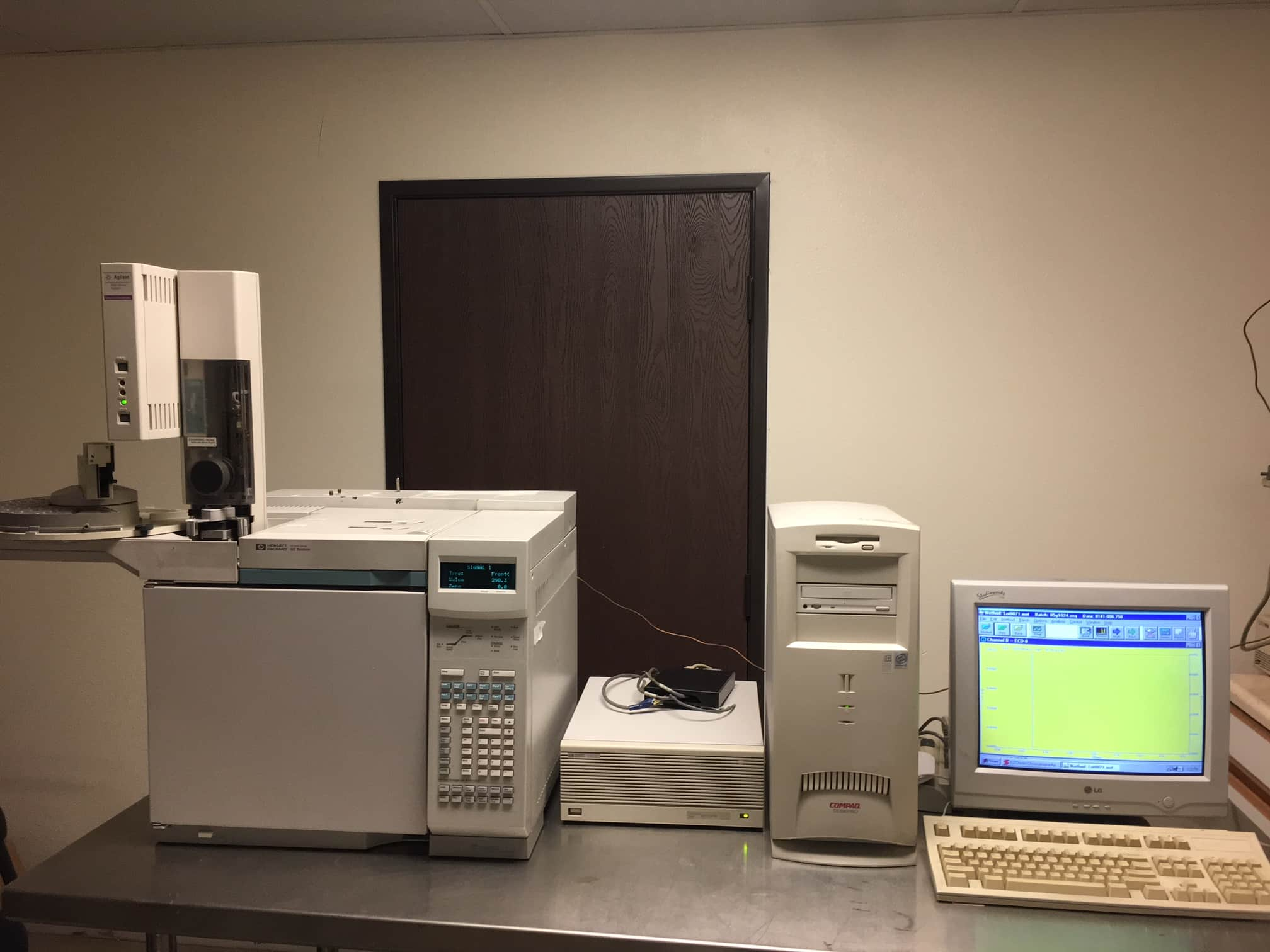 Complete Agilent GC 6890 with dual ECD/autosampler/data system