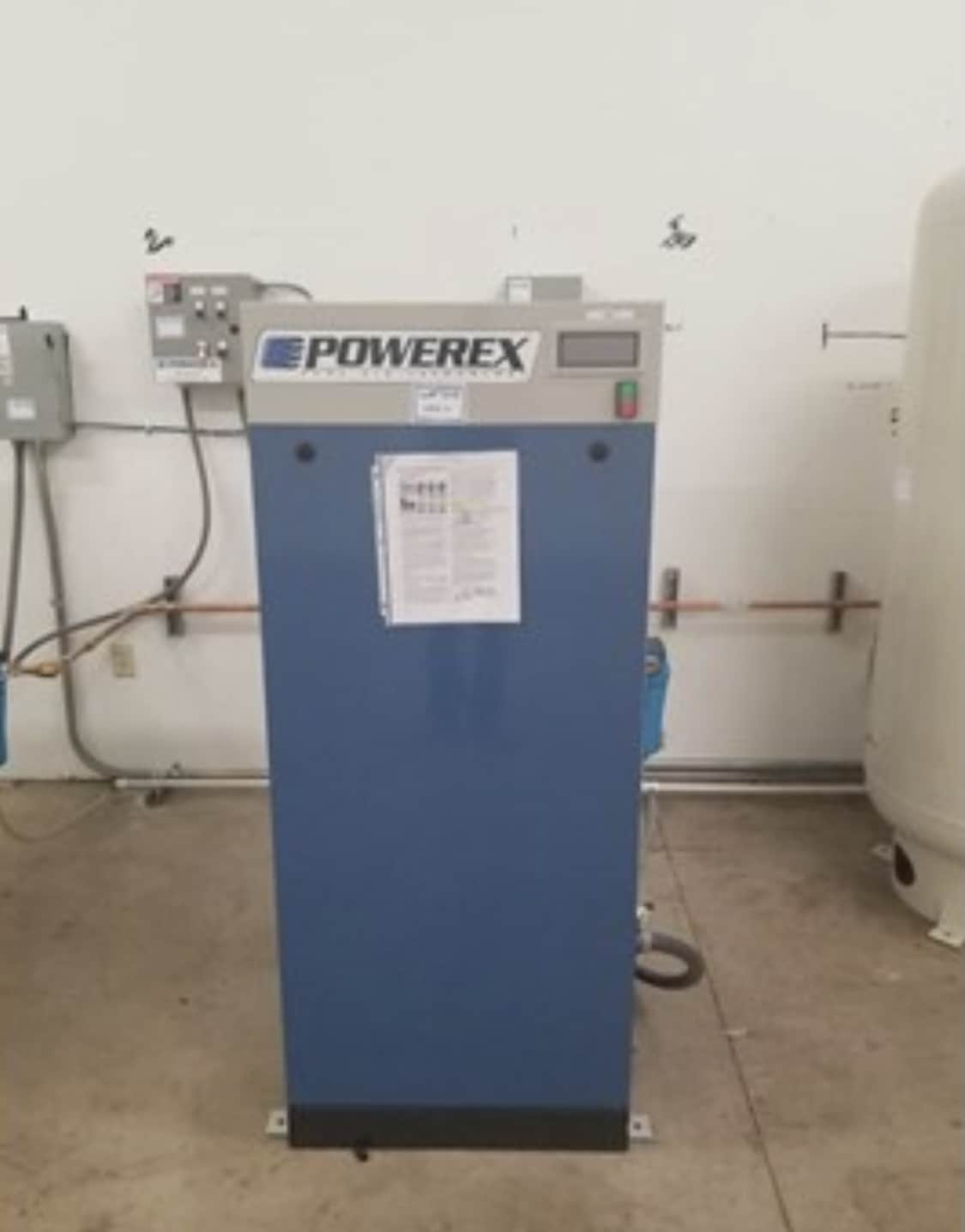 PowerEx Rotary Screw 35 HP air compressor system