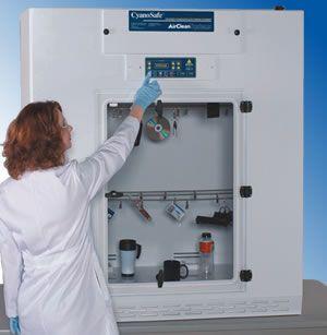 AirClean Systems CyanoSafe Cyanoacrylate Fuming Chamber