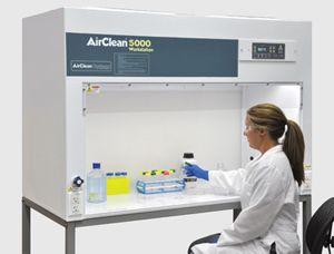 AirClean Systems Horizontal Laminar Flow Workstation