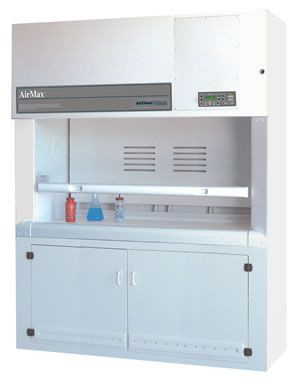 AirClean Systems AirMax Total Exhaust Polypropylene Fume Hood