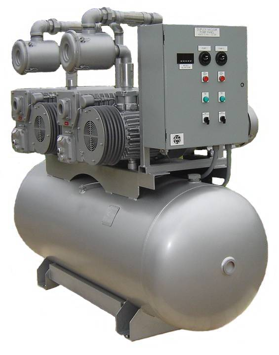 TORRVAC TCV Series Central Vacuum Systems Tank Unit
