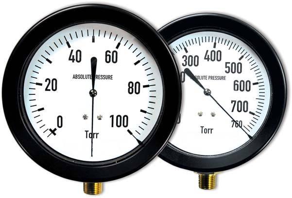 US Vacuum Dial TORR Gauges