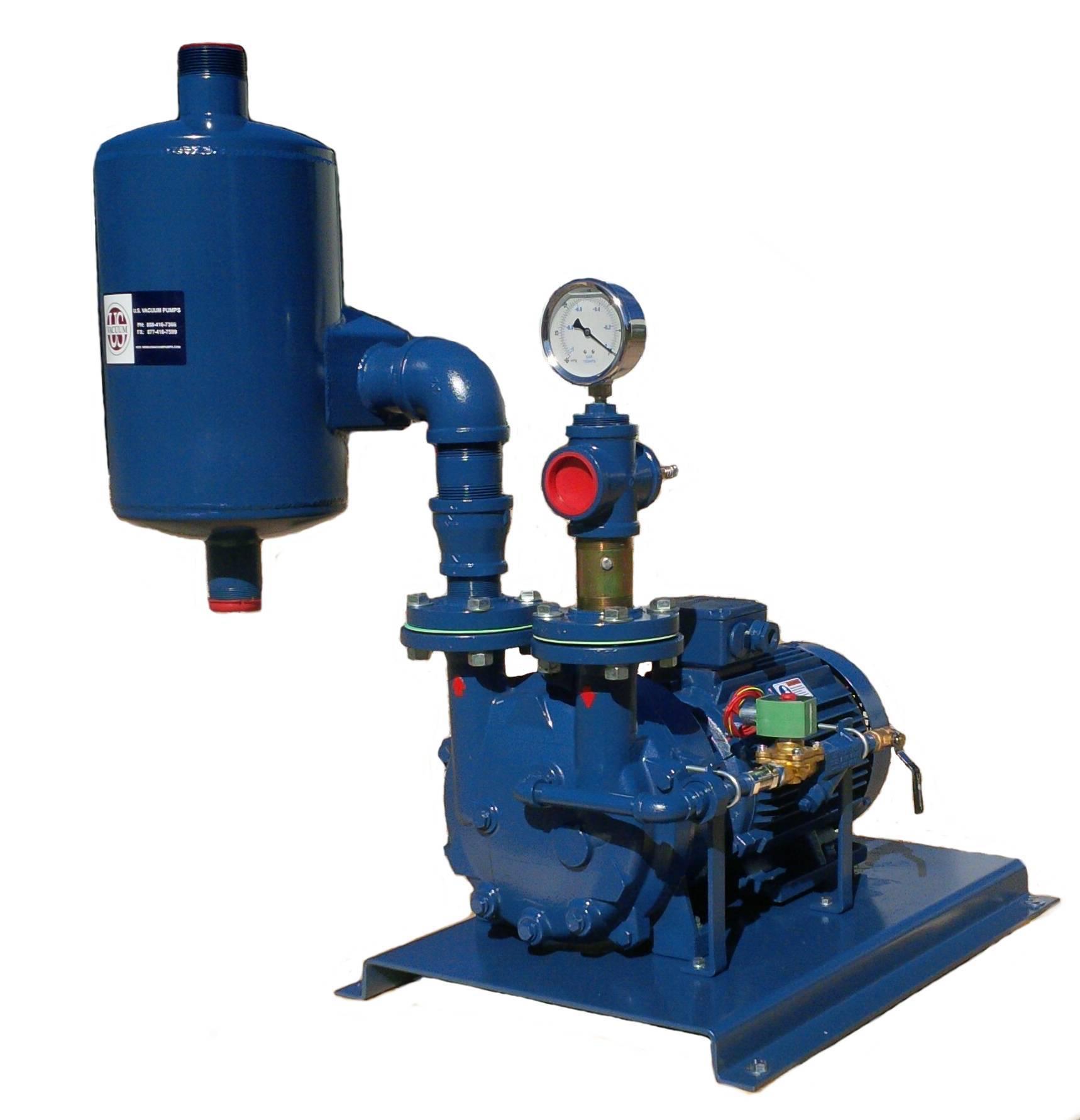 US Vacuum LRW/NC Series Water Sealed System
