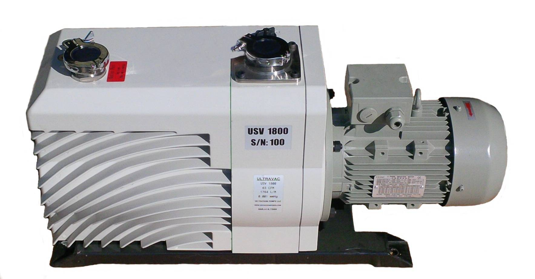 ULTRA-VAC Series Rotary Vane Vacuum Pumps