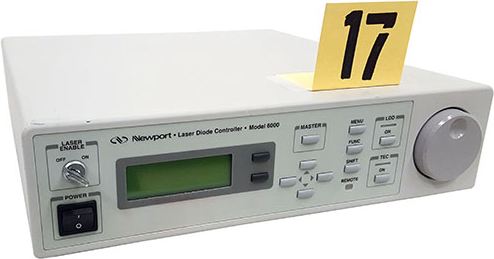 Newport 6000/6560A Test and Electronics Laser Diode Controller.