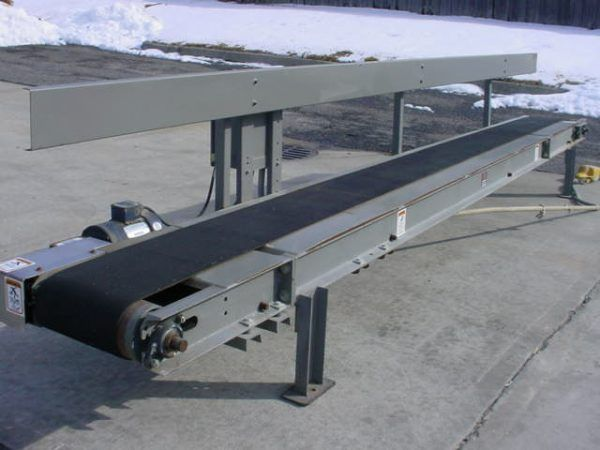 "ESP 12"" W x 16' L Conveyors Description 1-USED EXPRESS SCALE PARTS () 12"" WIDE BY 16′ LON"