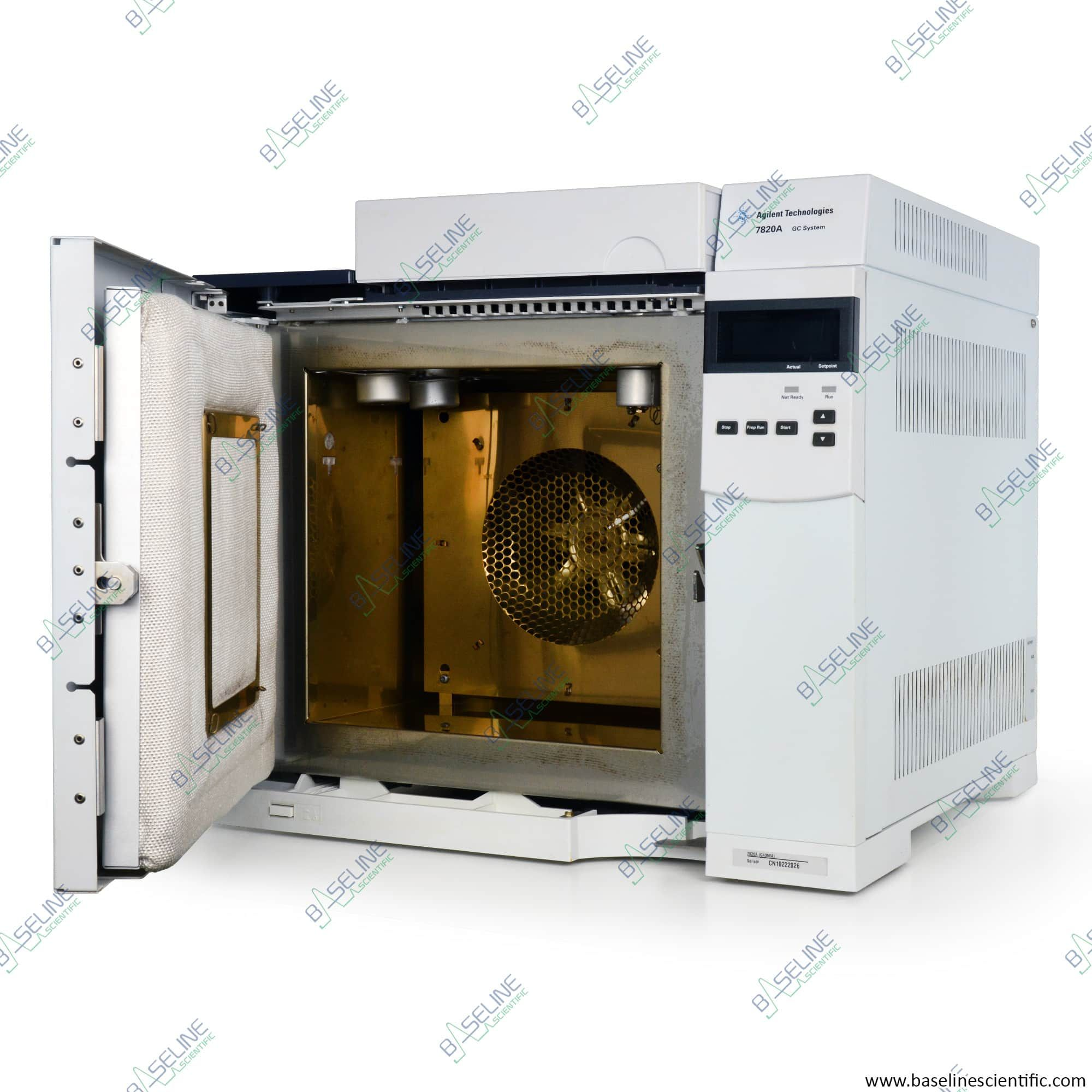 Refurbished Agilent 7820A G4350A Gas Chromatograph with One Year Warranty