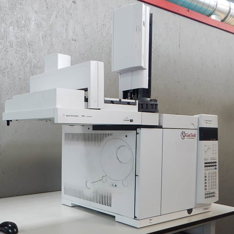 Agilent 7890 GC with ECD & 7693 Autosampler