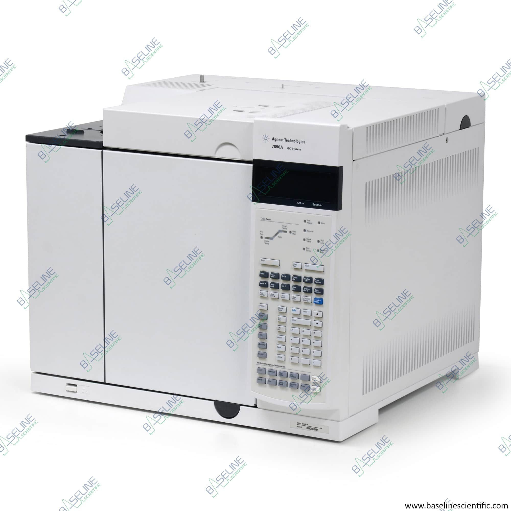 Refurbished Agilent 7890A GC Dual FIDs Dual SSL Inlets with ONE YEAR WARRANTY