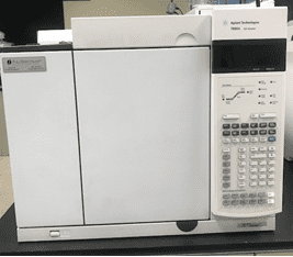 Agilent 7890A GC with Split/Splitless Injector and FID