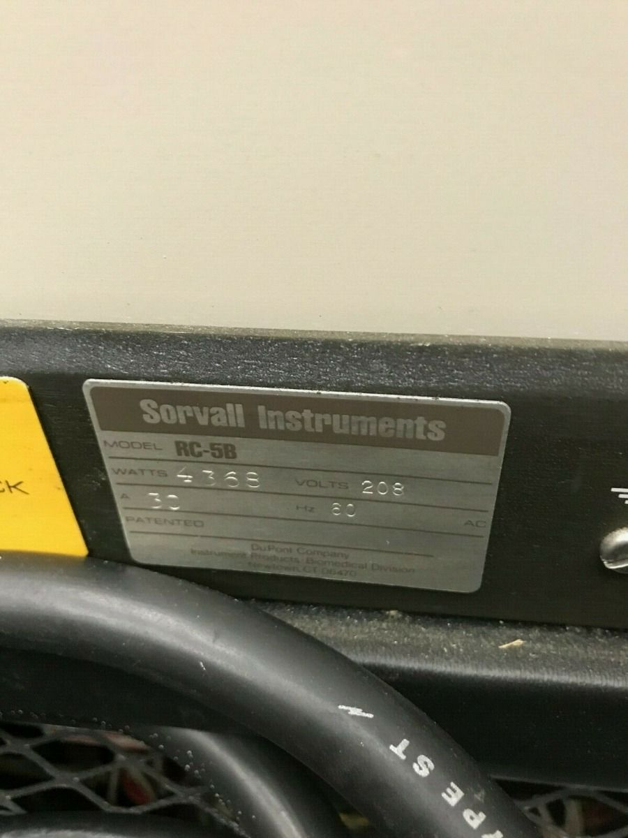 Sorvall RC-5B Refrigerated Superspeed Centrifuge