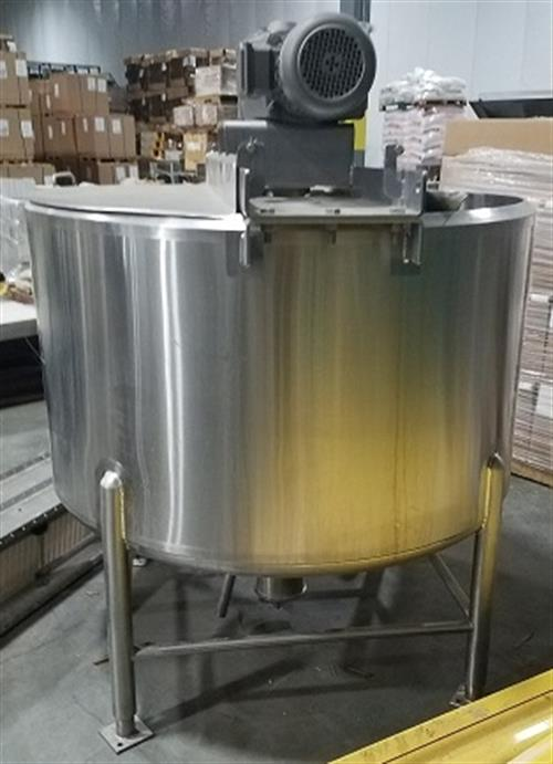 Feldmeier 100 Gallon Stainless Steel Jacketed & Agitated Processing Tank