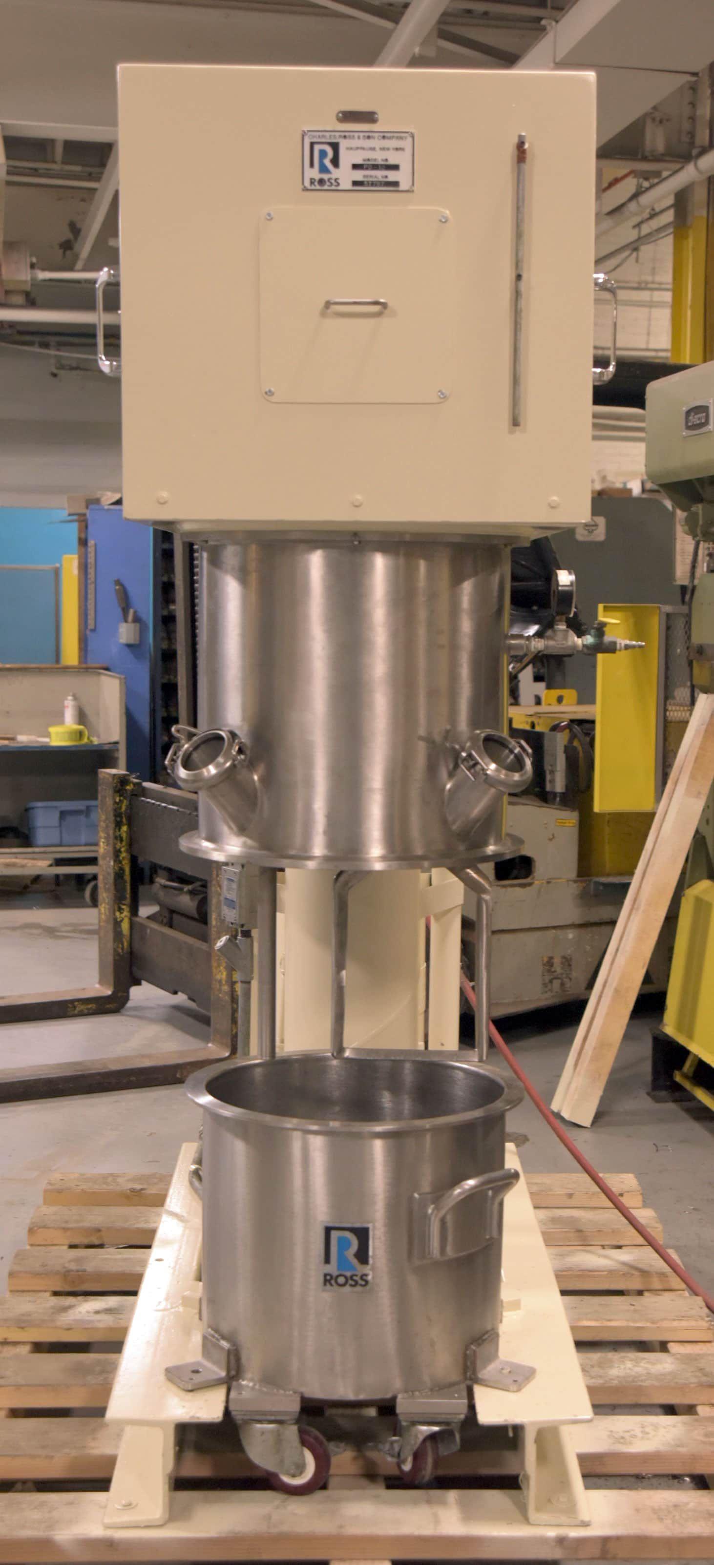 Refurbished Ross Powermix, PD-10 Gallon High-Shear Planetary Mixer & Optional Discharge Press