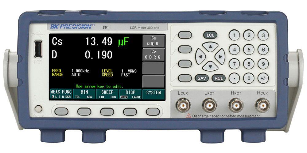 B&K Precision 300 kHz Bench LCR Meter