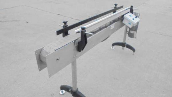 AESUS 4-1/2 In. Wide x 76 In. Long Conveyors Description 1-Used Aesus 4-1/2 In. Wide X 76 In. Long S