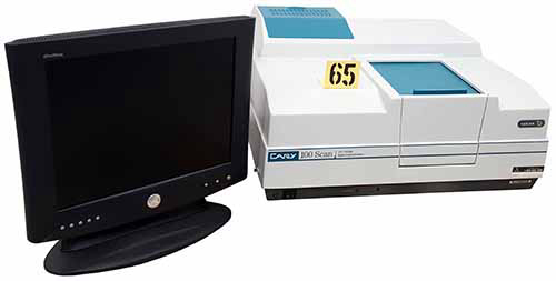 Varian Cary 100 Scan Lab Equipment UV-Vis High Performance