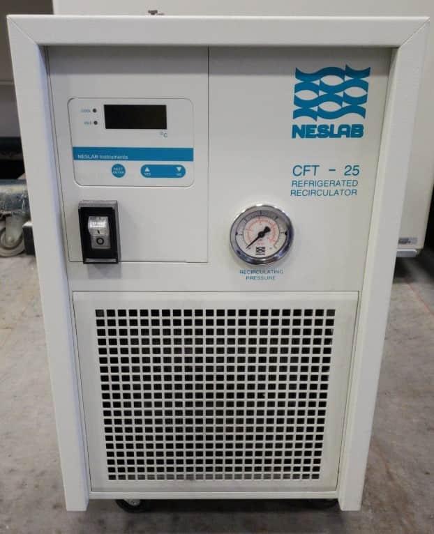 Recirculating chiller:  Neslab CFT-25 refrigerated recirculating chiller