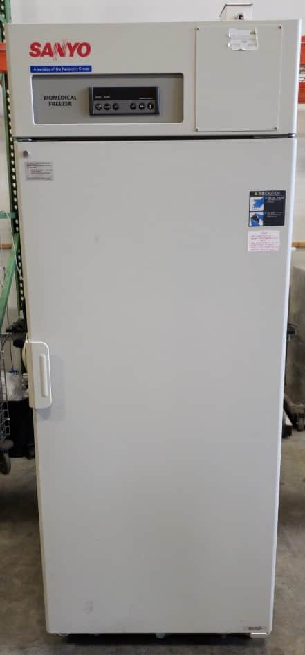 Biomedical Lab Freezer (-20 to -30C):  Sanyo MDF-U731M - Excellent condition