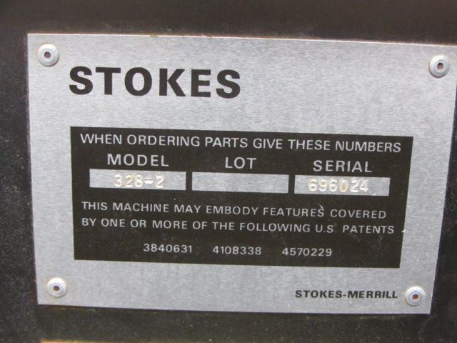 STOKES 328-2 D-Tooled Tablet Press 33 Station
