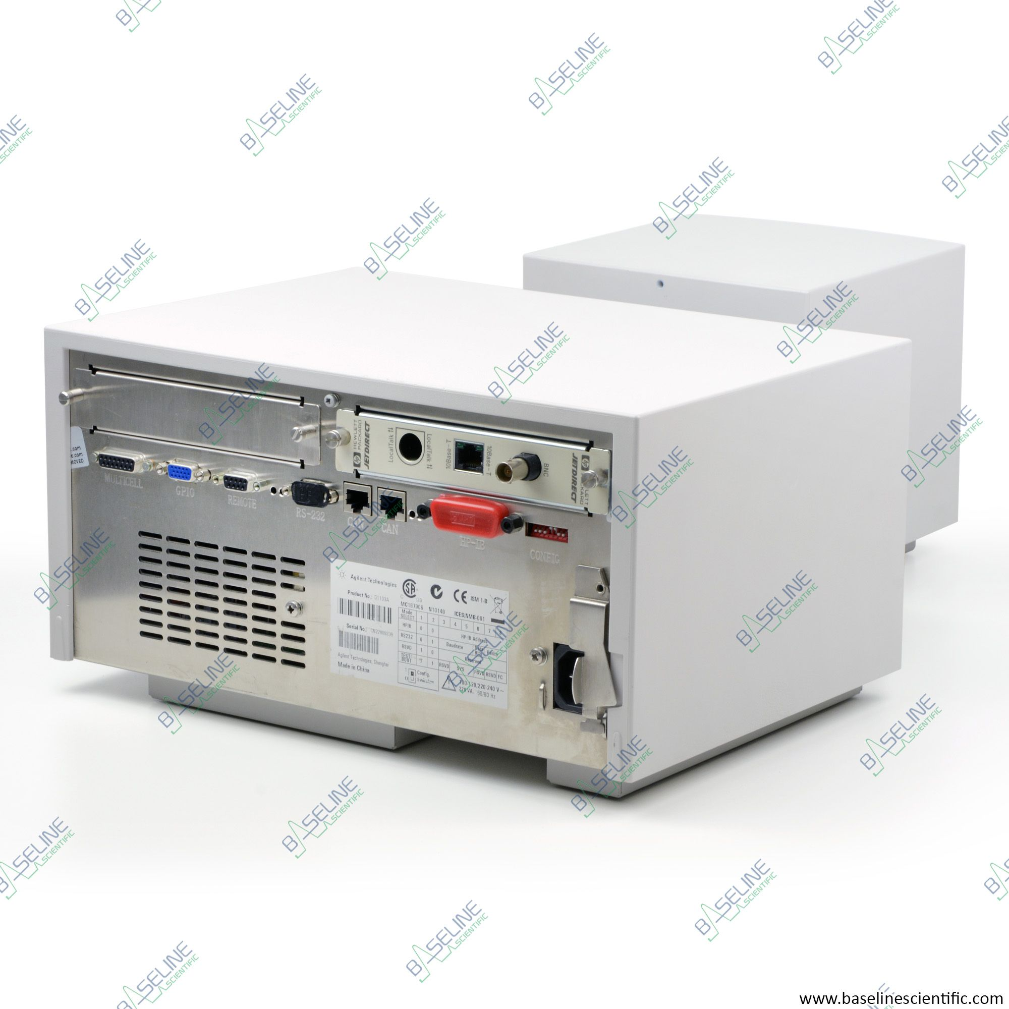 Refurbished Agilent HP 8453 G1103A Spectrophotometer with Chemstation B.04.01 and ONE YEAR WARRANTY