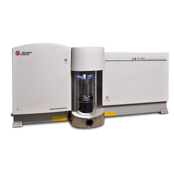 LS 13 320 SW Laser Diffraction Particle Size Analyzer