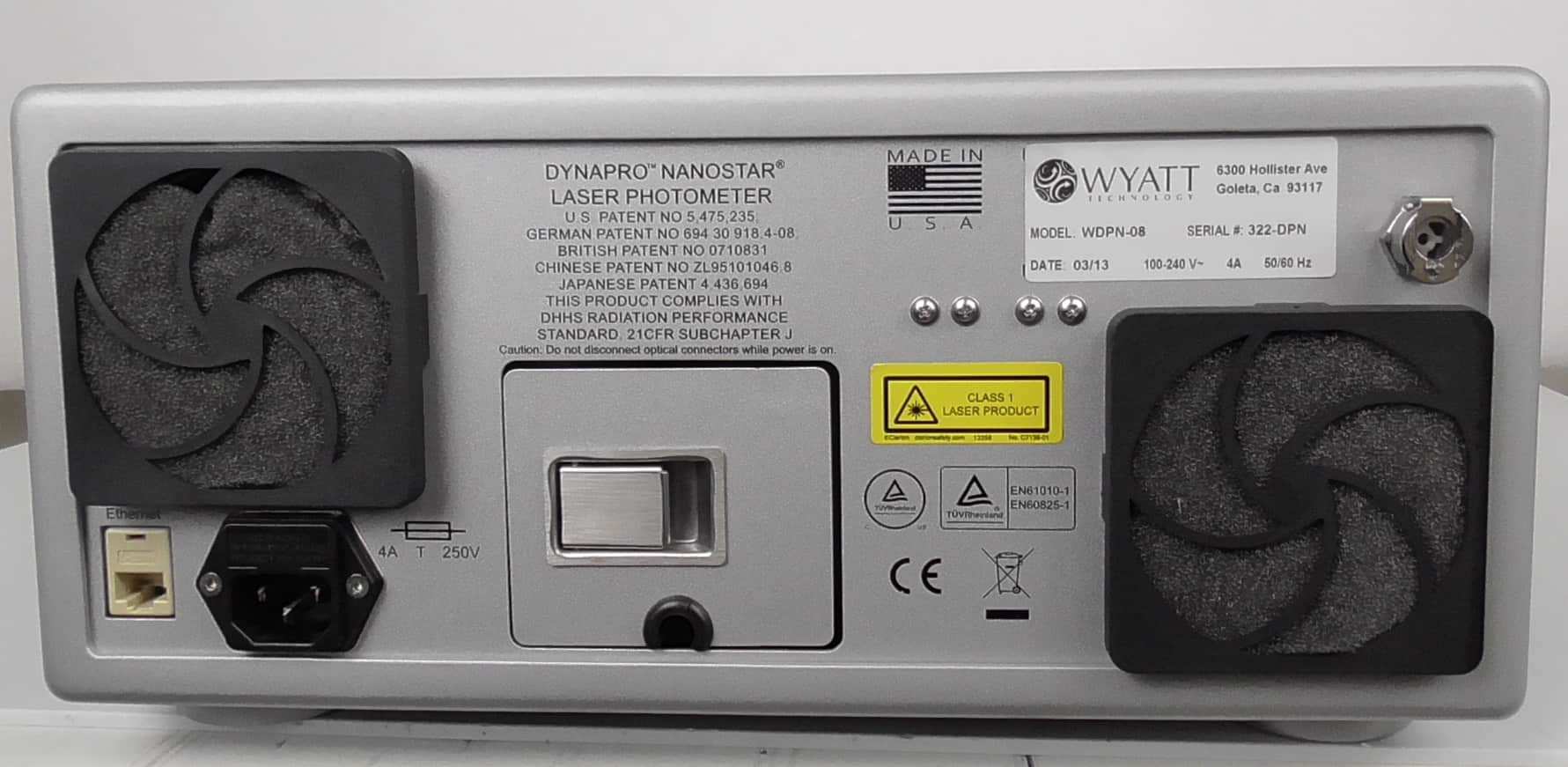 Misonix S4000 Sonicator with Optional Sound Abating Enclosure
