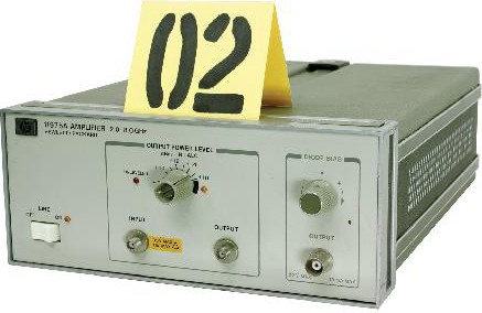 HP 11975A Test and Electronics Microwave Amplifier. Frequency Range: