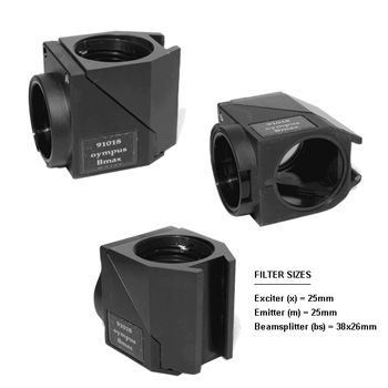 91018 BX2 (U-MF2) Filter Holder for Olympus BX2 and IX2 models