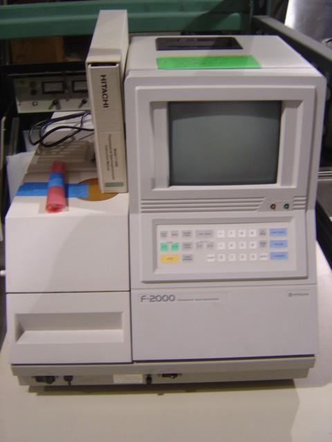 Hitachi F2000 Spectrofluorometer Hitachi F-2000 Spectrofluorometer