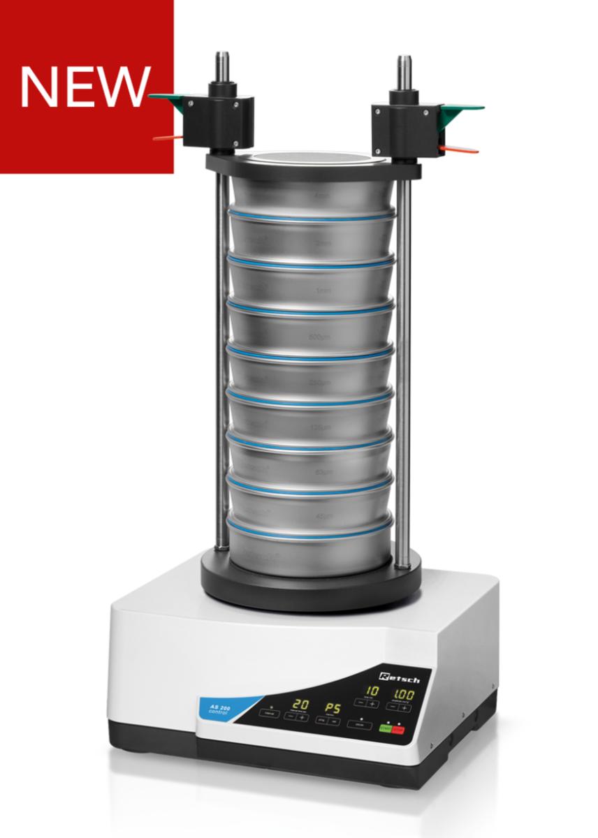 Vibratory Sieve Shaker AS 200 control