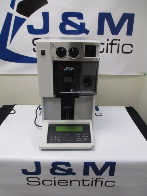 Beckman Coulter Z1 Dual Threshold Particle Counter & Size Analyzer