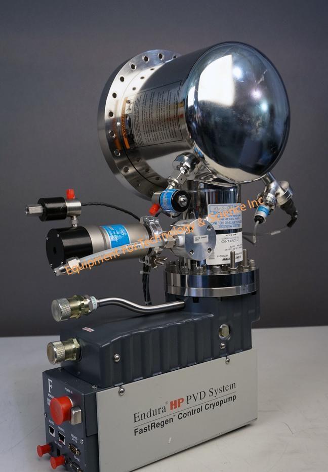 Rebuilt CTI Cryotorr 8F OnBoard Cryopump with conflat flange (1417)