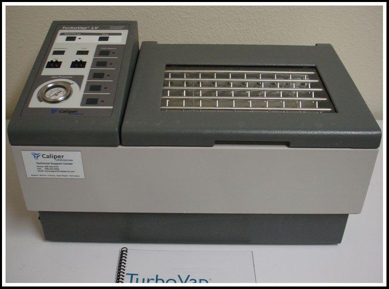 TurboVap LV Evaporator Biotage Caliper Zymark w Warranty