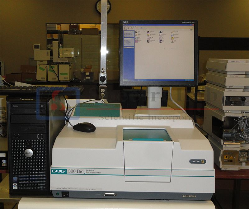 Varian cary 300 Bio UV-Visible Spectrophotometer with suitable software