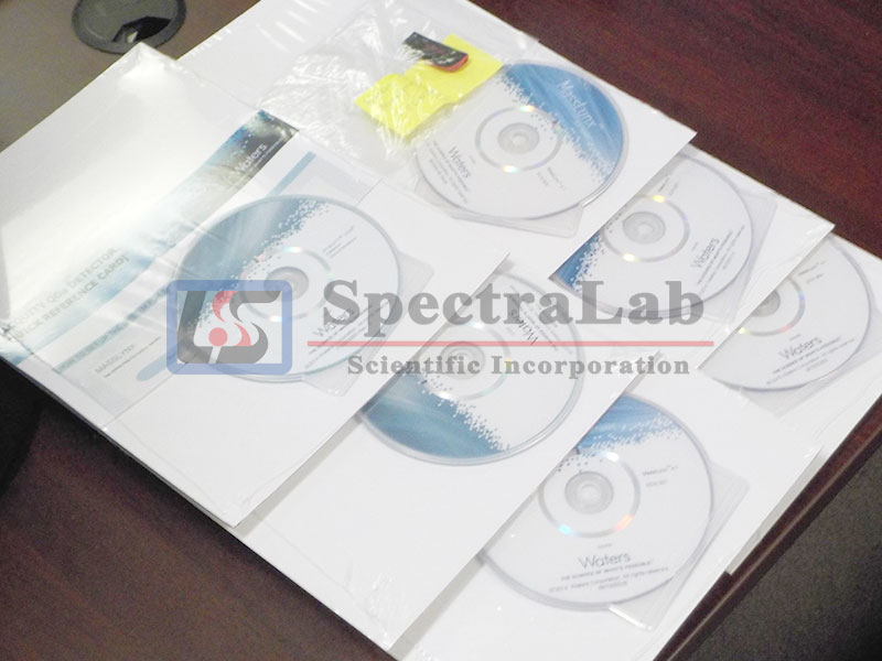 Waters ACQUITY QDa Detector Documentation & MassLynx 4.1 software