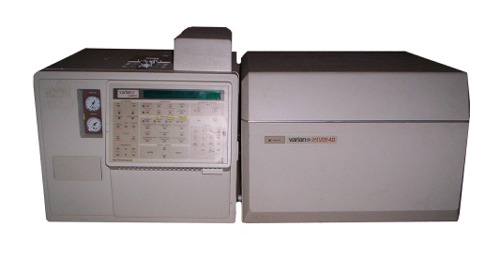 GC/MS (Gas chromatograph Mass Spectrometer) Varian Saturn 2 (4D) with 3400 GC and optional 8100 auto