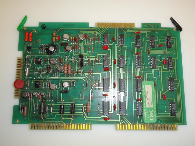 HP 5970 MS 05970-60205 Green Tab Board