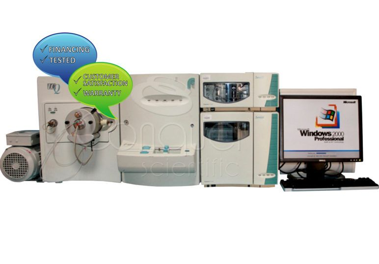 Thermo Finnigan LCQ Ion Trap (LC/MS/MS) with Surveyor HPLC System