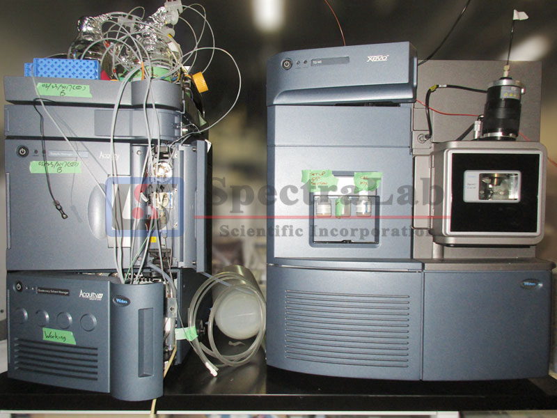 Waters XEVO TQ MS with Waters Acquity uPLC