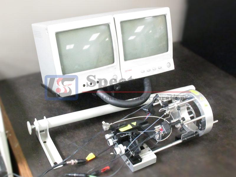 AB Sciex NanoSpray II ion source, w/ integrated camera, monitors, & mounting bracket