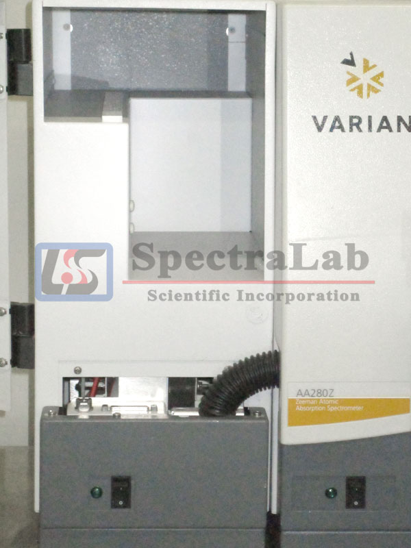 Varian AA280Z Zeeman Atomic Absorption Spectrometer with GTA 120