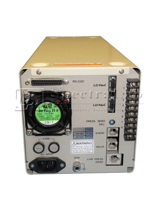 Jasco Pu-1585 Intelligent HPLC Pump
