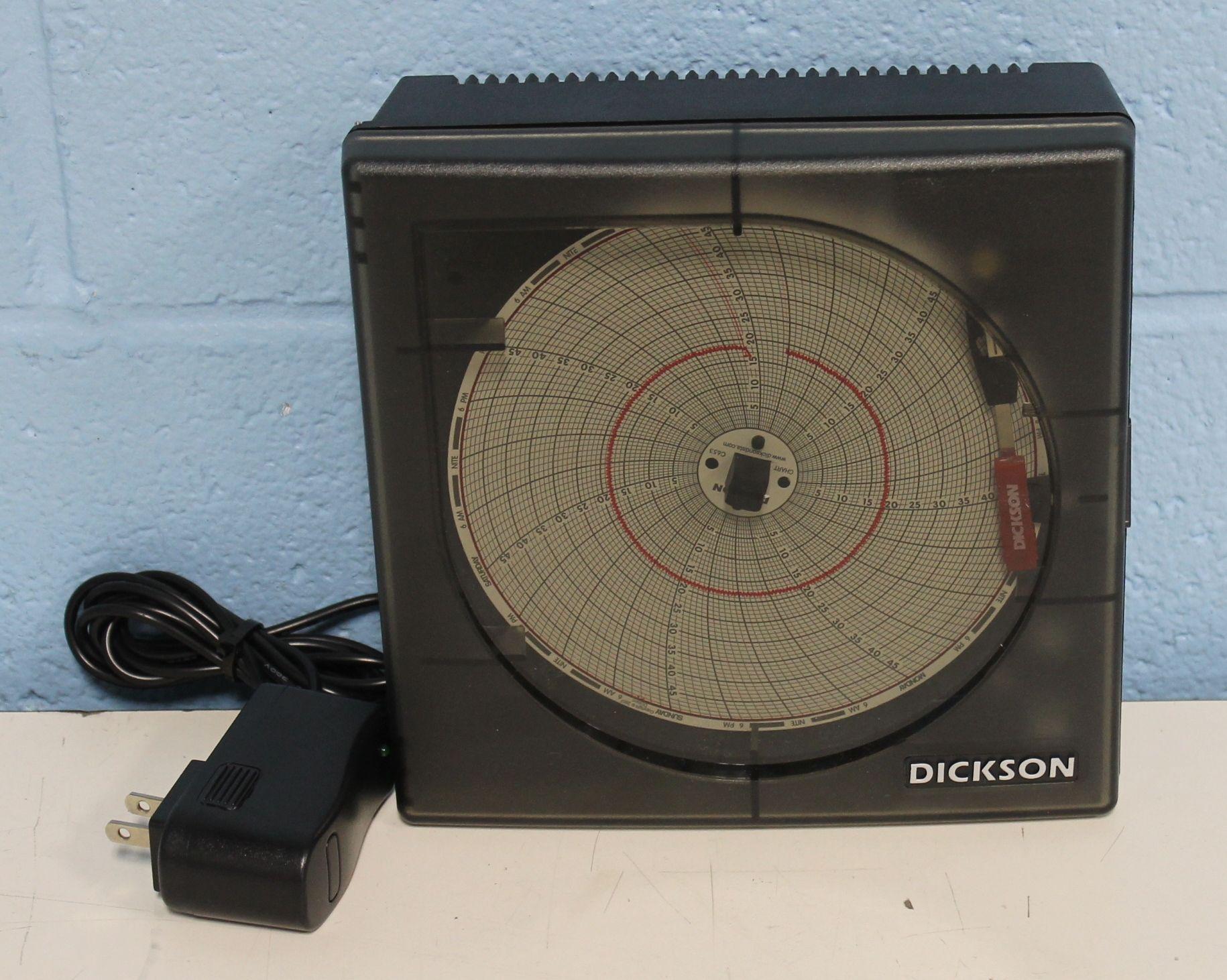 Dickson KT621 6 152mm Temperature Chart Recorder