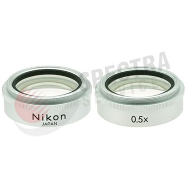 Nikon 0.5x Auxiliary Objective for SMZ 1, 1B, 2, 2B and 2T, SMZ 445