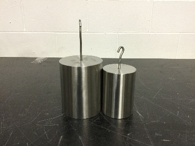 Lot of (2) Troemner Calibration Weights